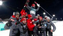 Silbermedaille im Massenstart für Simon Schempp