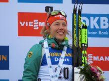 Sieg im Massenstart für Laura Dahlmeier