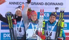 Tarje Boe (2), Benedikt Doll (1), Quentin Fillon Maillet (3)