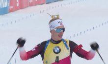 Sieg für Johannes Thingnes Boe im Verfolger