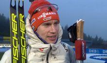 Platz 3 für Johannes Kühn im Sprint in Oberhof
