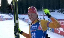 Sieg für Denise Herrmann im Einzel über 15km