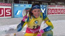 Hanna Oeberg, Sieg auch im 2. im Sprint