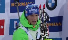 Platz 2 im Massenstart, Simon Schempp
