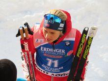 Tirill Eckhof (NOR), Sieg im Sprint über 7,5 km