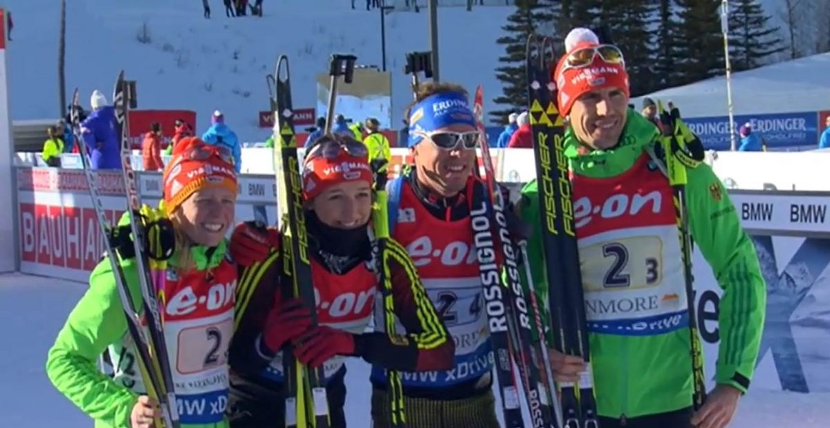 Mixed Staffel Canmore