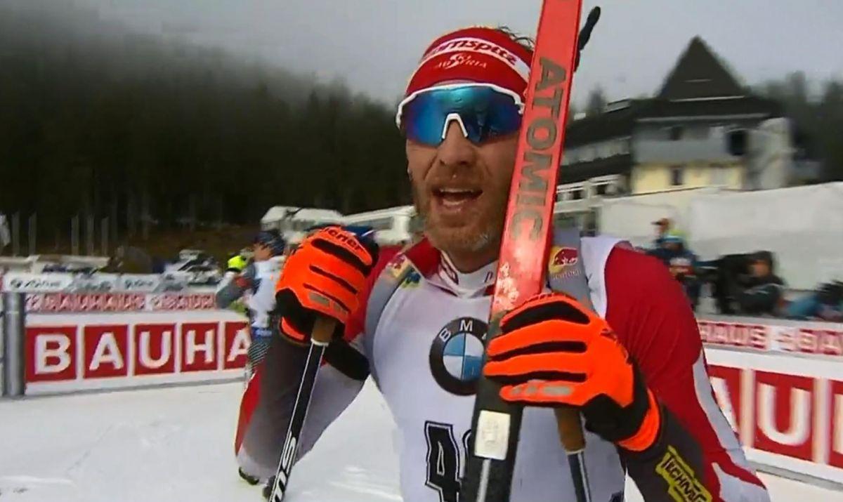 Platz 3 für Simon Eder, Österreich