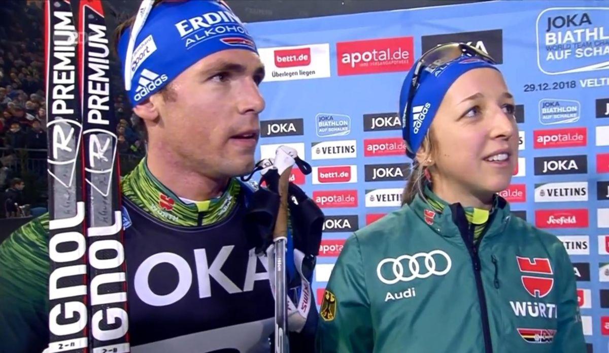 Franziska Preuß, Simon Schempp, Platz 2