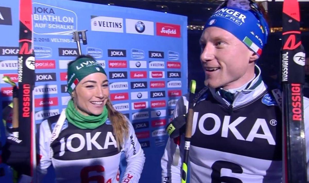 Platz 1, Dorothea Wierer, Lukas Hofer