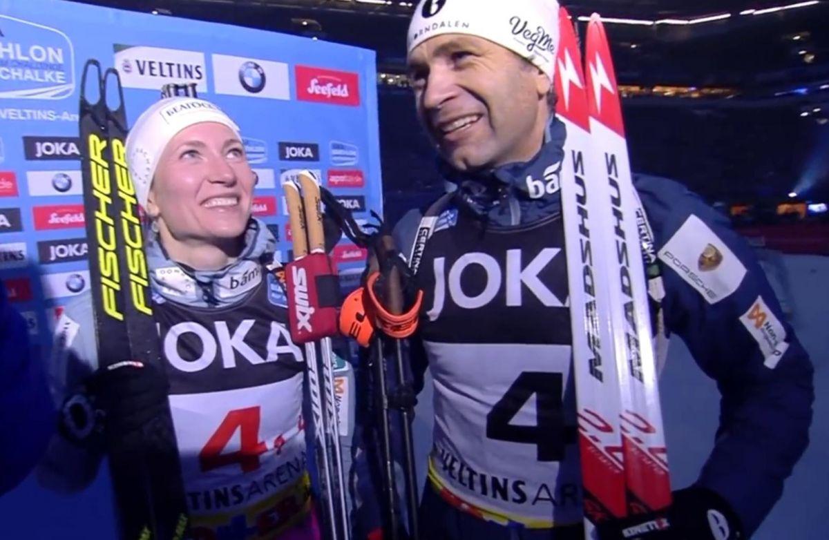 Darja Domratschewa, Ole Einar Björndalen, Abschied vom Biathlon