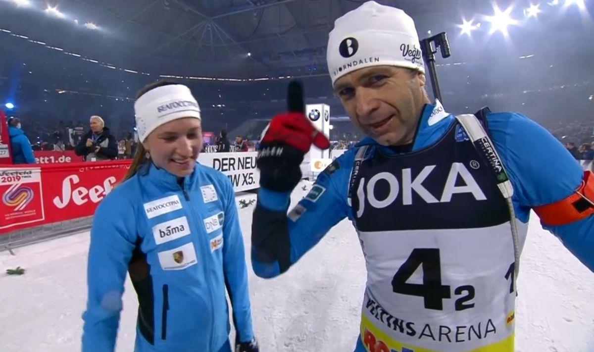 Darja Domratschewa, Ole Einar Björndalen
