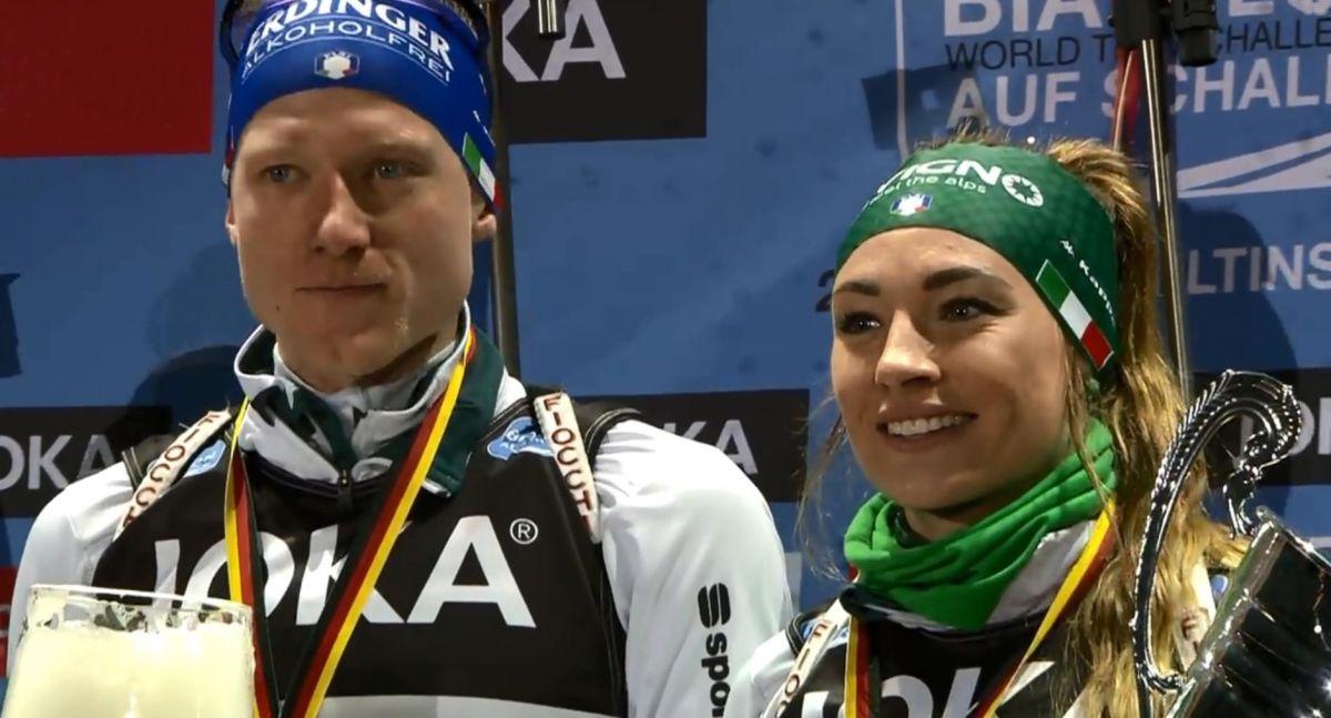 Lukas Hofer, Dorothea Wierer, Platz 1