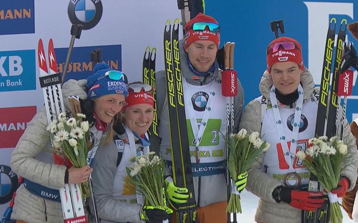 Platz 3, Deutschland; Vanessa Hinz, Janina Hettich, Johannes Kühn, Philipp Horn