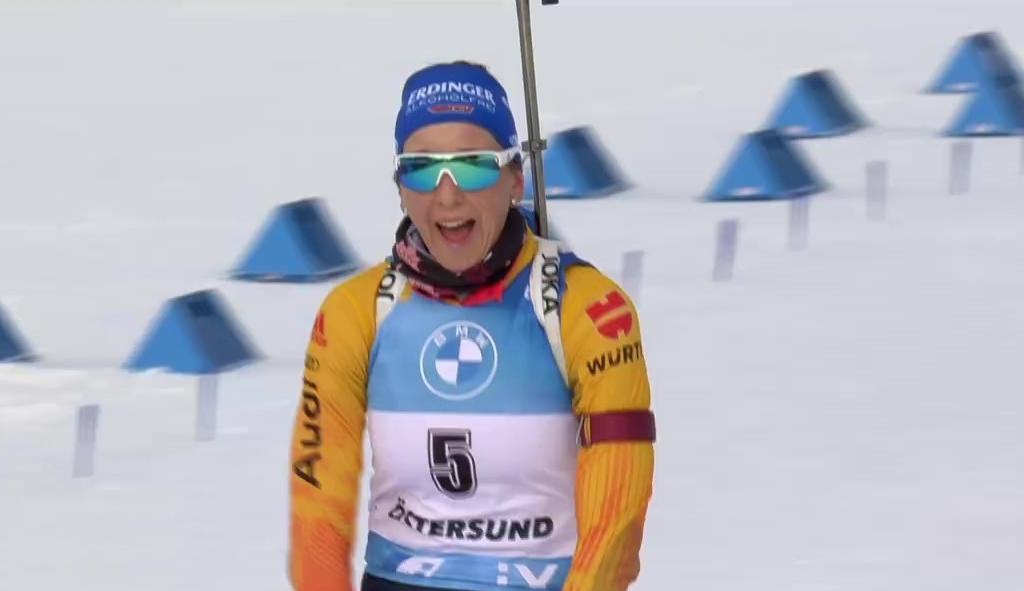 Platz 3 für Franziska Preuß beim letzten Rennen der Saison