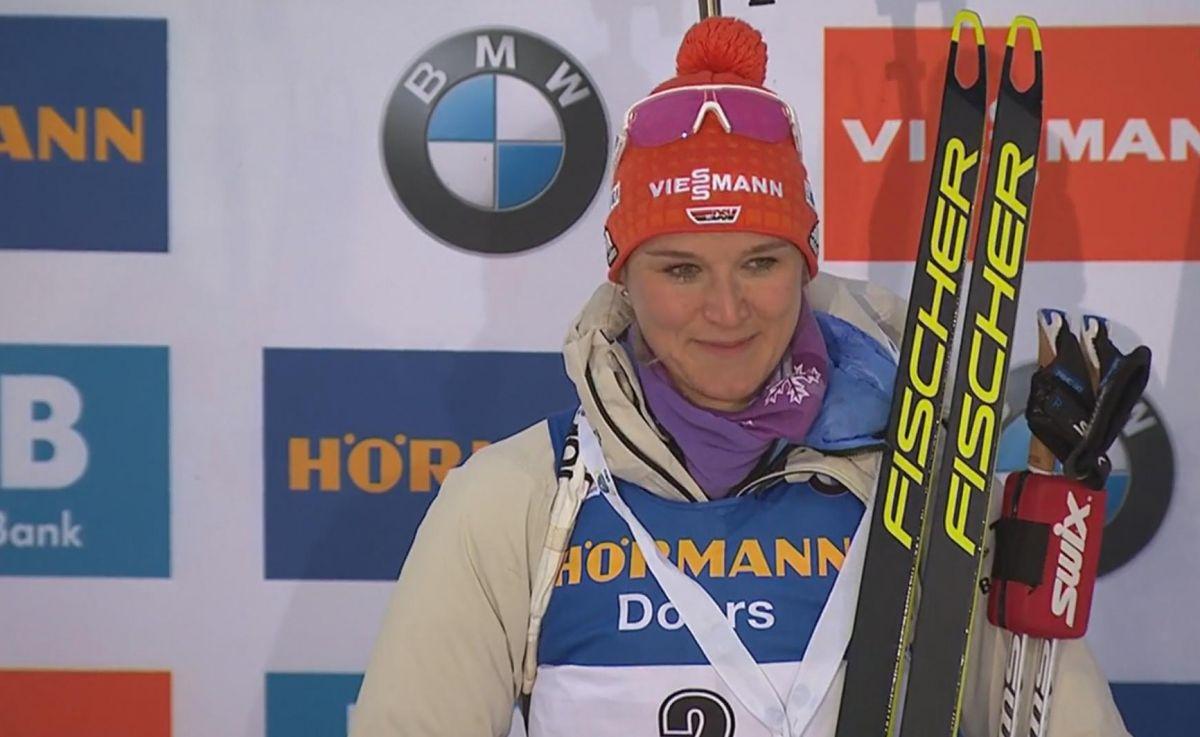 Sieg für Denise Herrmann im Sprint