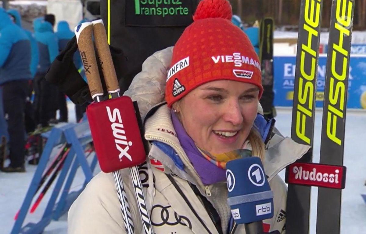 Denise Herrmann, Gesamtweltcup Platz 3