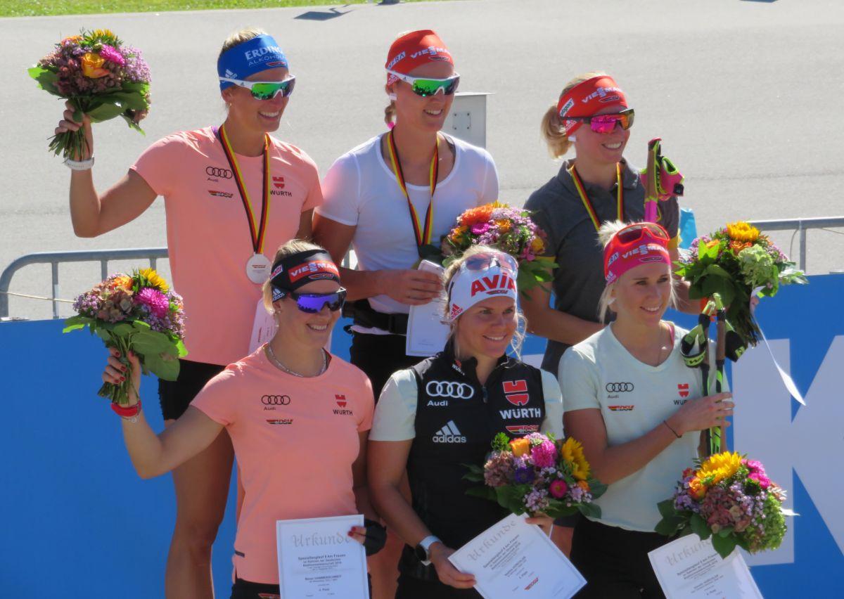 Vanessa Hinz, Denise Herrmann, Franziska Hildebrand, Maren Hammerschmidt, Nadine & Karolin Horchler
