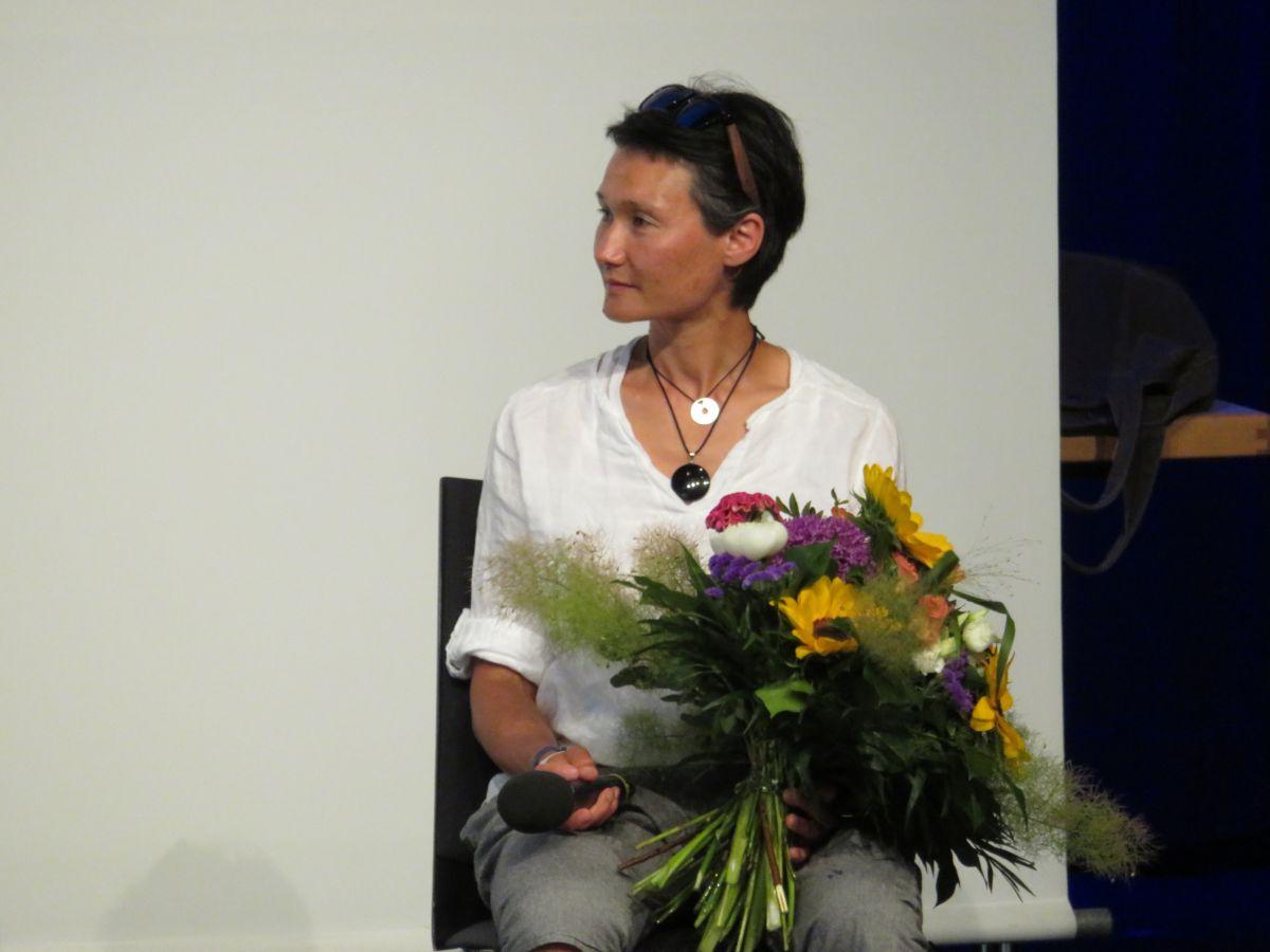 Ehrengast Simone Hauswald